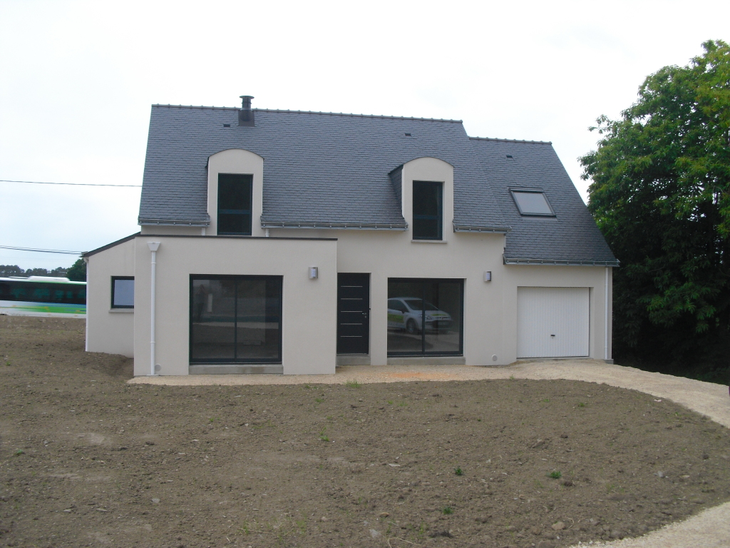 Photos de construction de maison en morbihan for Architecture des maisons