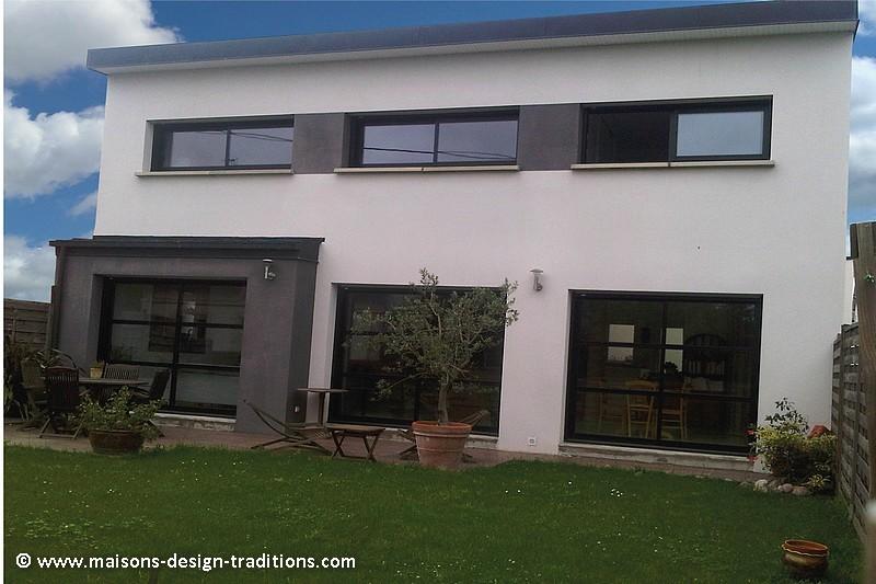 Maison moderne construite à Vanne