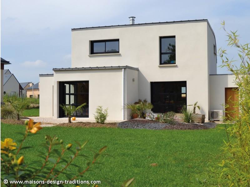 Photos de construction de maison en morbihan for Maison neuve construction