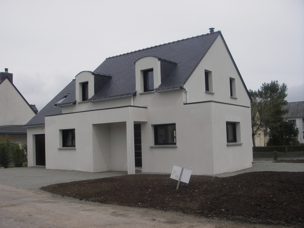 Construction maison neuve vannes maison moderne for Assurance construction maison neuve