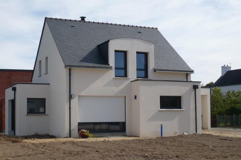 Photos de maisons neuves couleur de l enduit - Couleur de gevel de maison moderne ...
