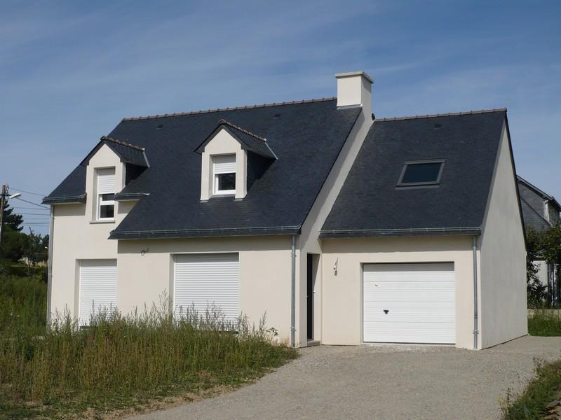 Photos de maisons neuves couleur de l enduit - Couleur exterieur maison ...