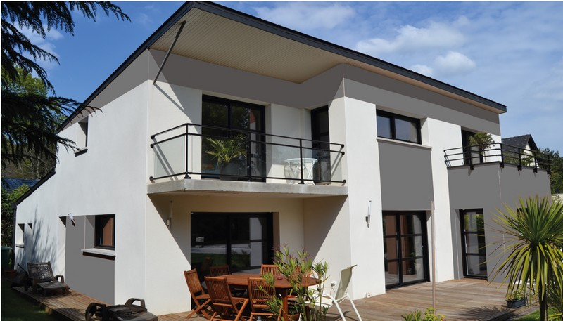 Construire une maison en morbihan with construire des maison for Tarif maison a construire